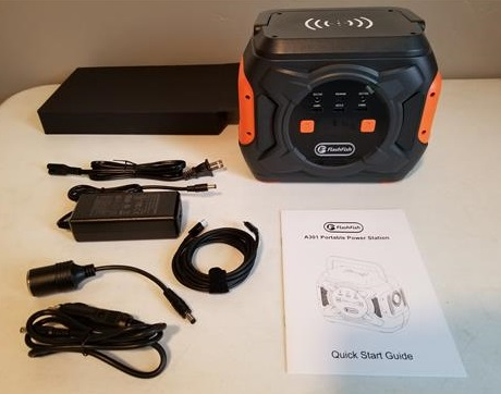 Review FF FLASHFISH A301 Portable Power Station Overview