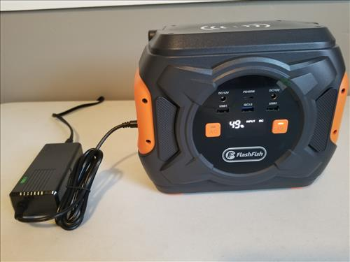 Review FLASHFISH A301 Portable Power Station Charging Time