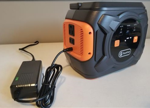 Review FLASHFISH A301 Portable Power Station Charging